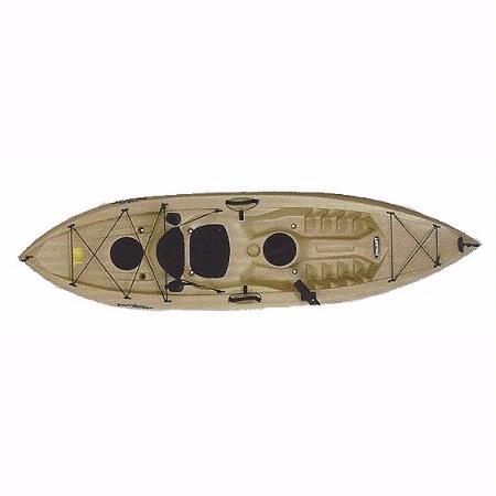 Divers discount florida lifetime 10 39 tamarack 120 angler for Tamarack fishing kayak
